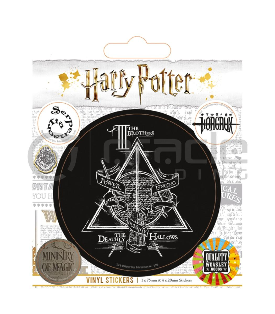 Harry Potter Vinyl Sticker Pack - Hallows