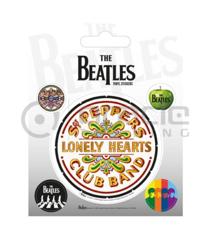 The Beatles White Vinyl Sticker Pack