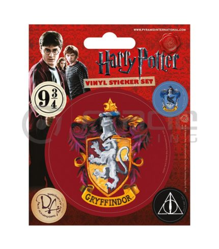 Harry Potter Gryffindor Vinyl Sticker Pack