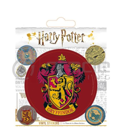 Harry Potter Gryffindor Vinyl Sticker Pack