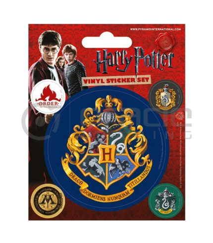 Harry Potter Hogwarts Vinyl Sticker Pack