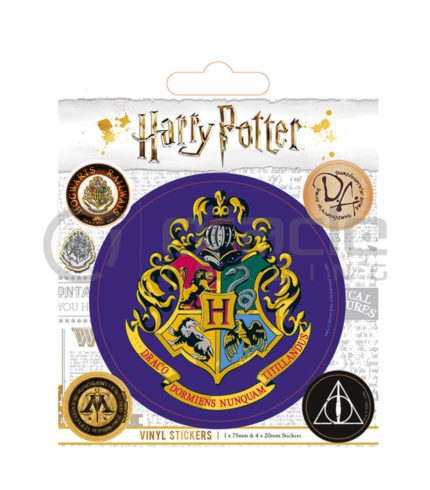 Harry Potter Hogwarts Vinyl Sticker Pack