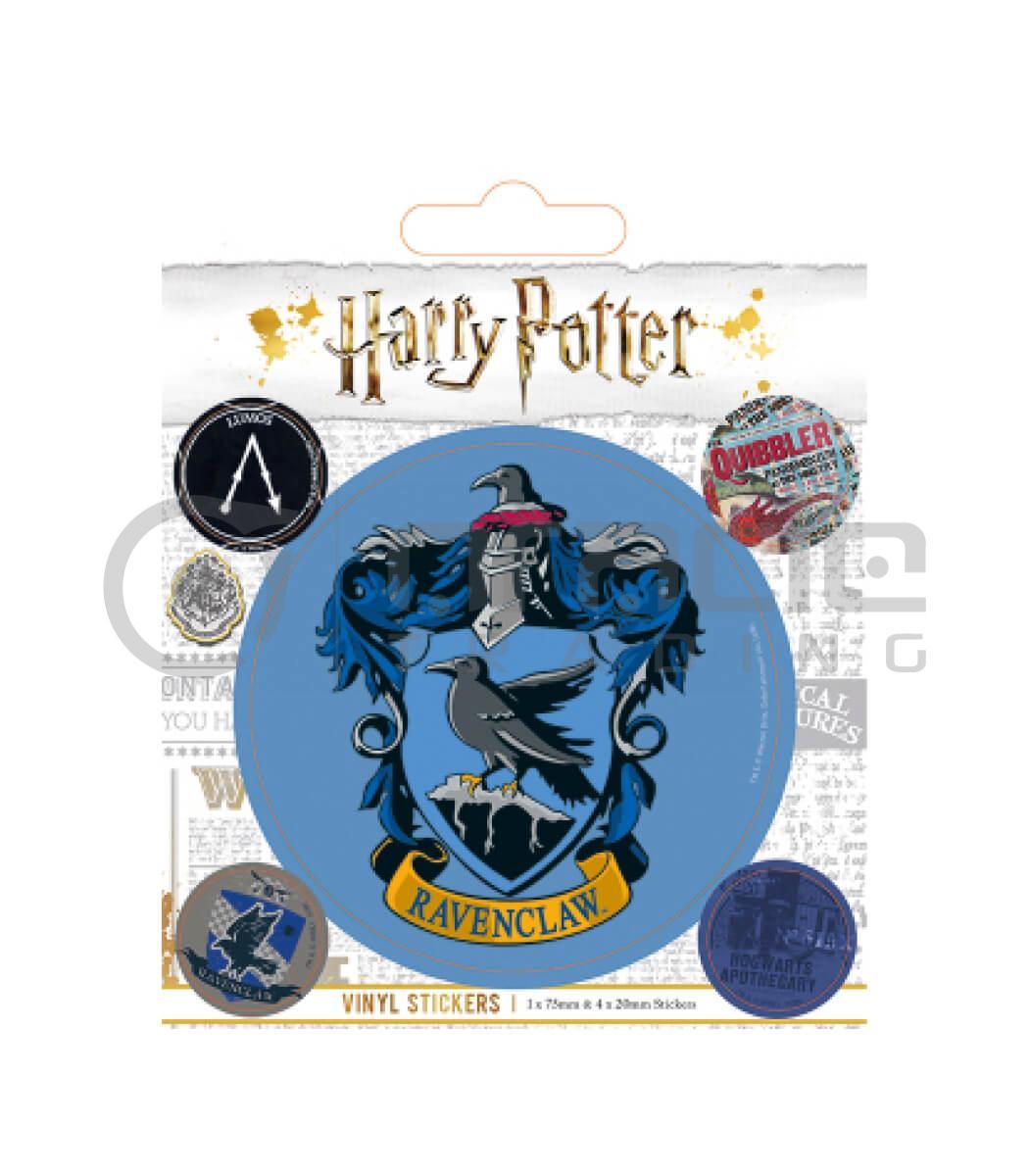 Harry Potter Ravenclaw Vinyl Sticker Pack