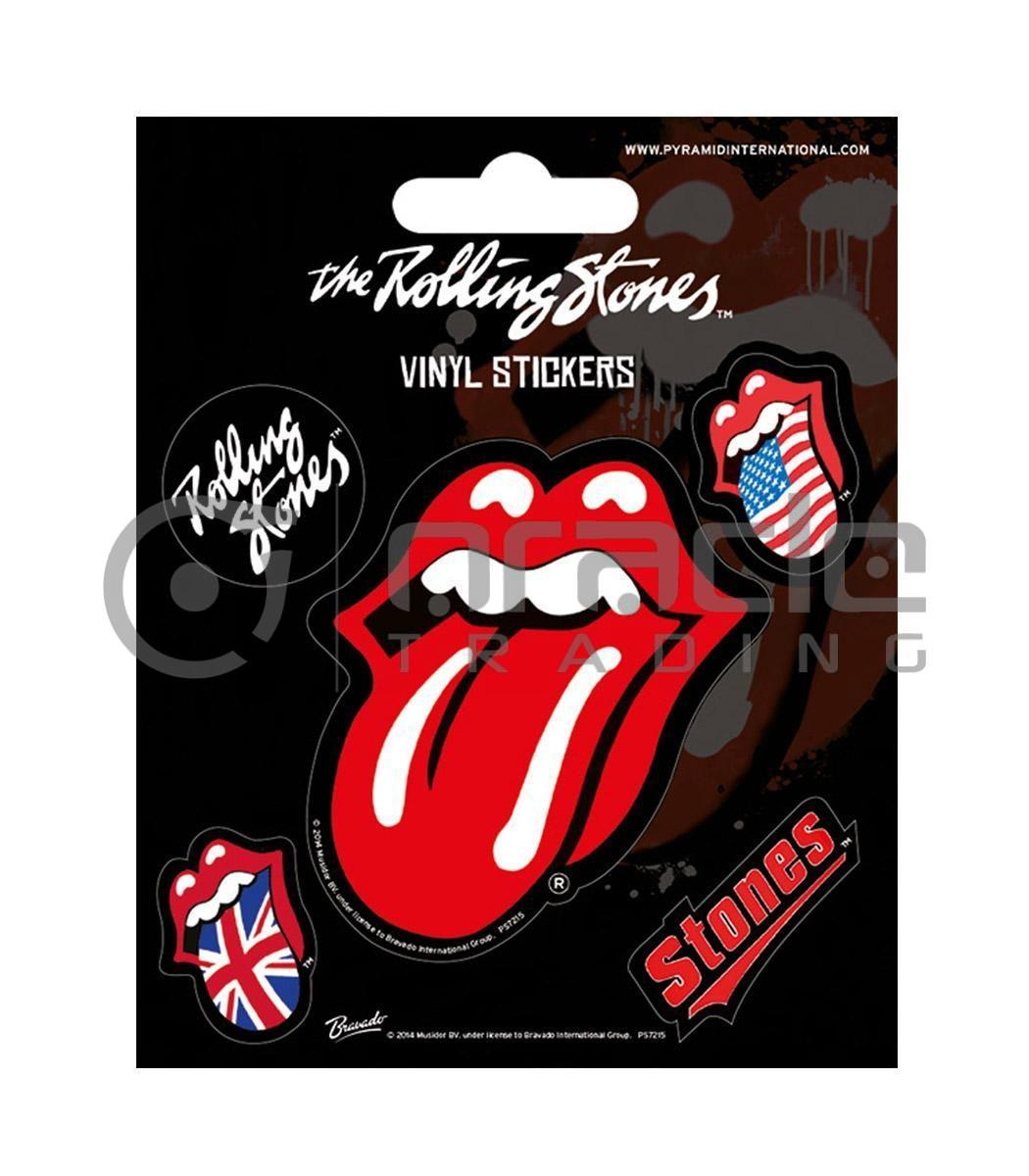 Rolling Stones Vinyl Sticker Pack