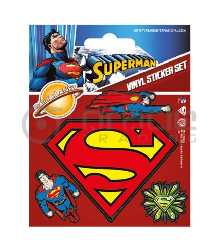 Superman Vinyl Sticker Pack