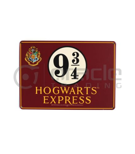 Harry Potter Street Sign - Hogwarts Express