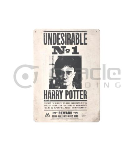 Harry Potter Street Sign - Undesirable #1
