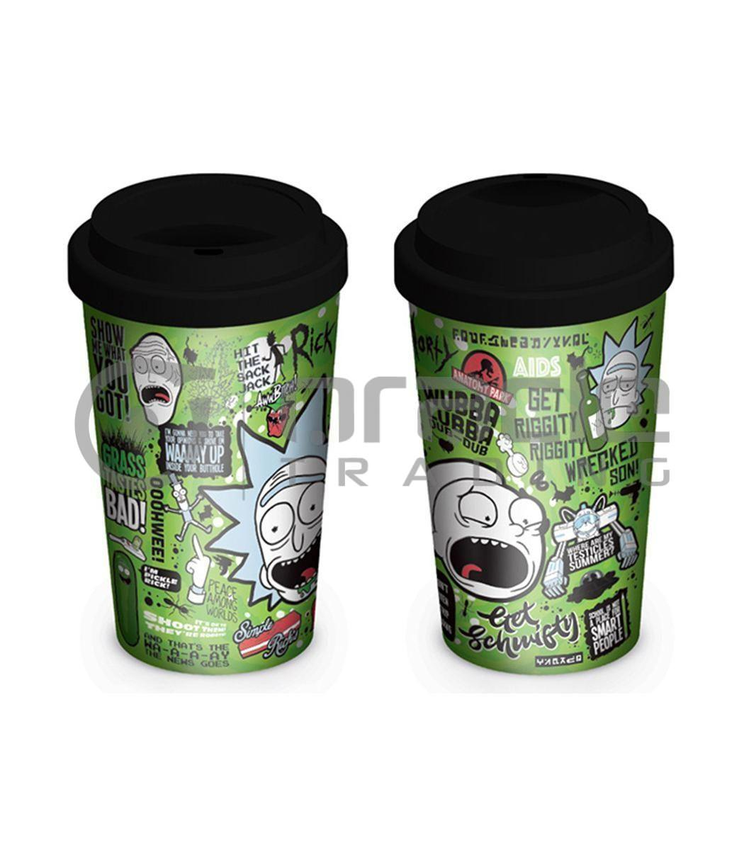 Rick & Morty Travel Mug - Quotes