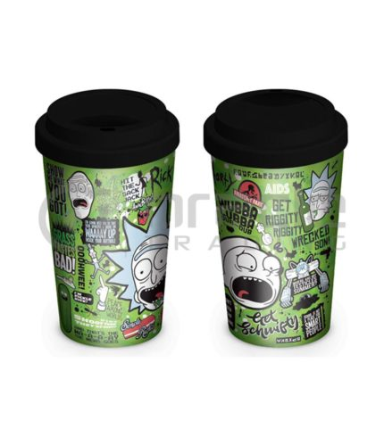 Rick & Morty Travel Mug - Quotes