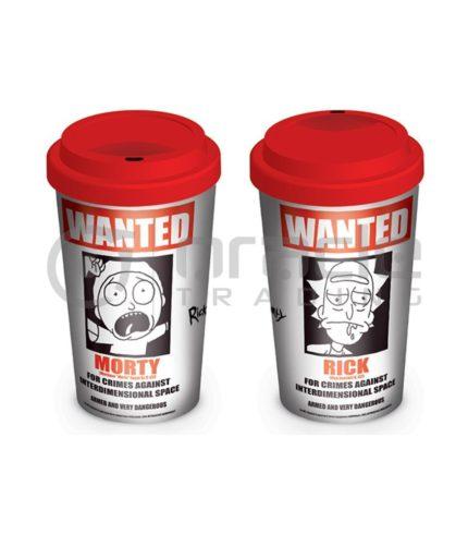 Rick & Morty Travel Mug - Wanted