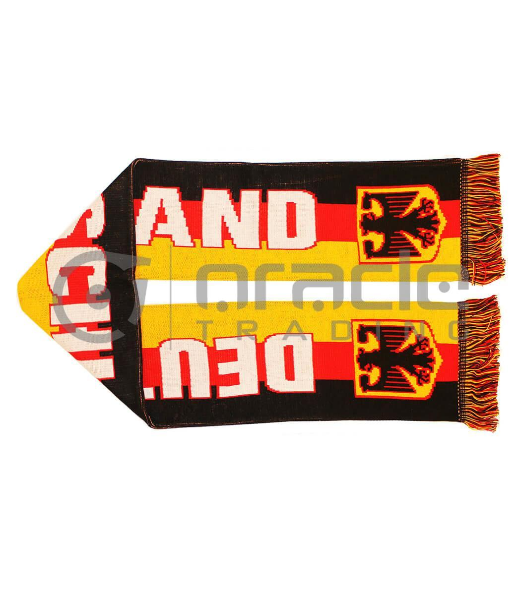 Germany Tri-Colour UK-Made Scarf
