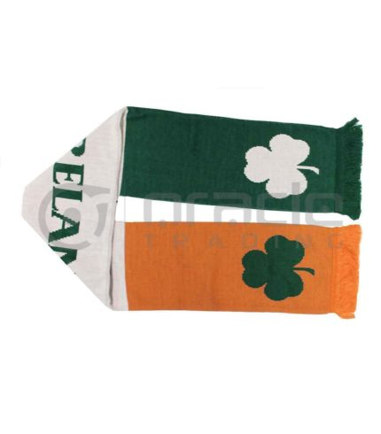 Ireland Tri-Colour UK-Made Scarf