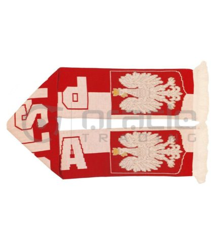 Poland UK-Made Scarf - Polska