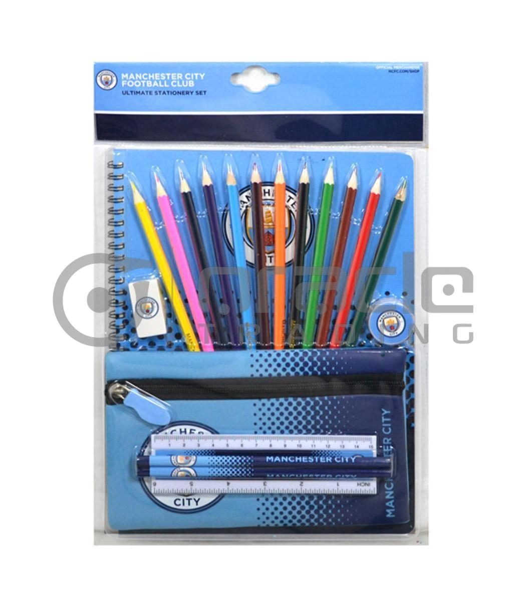 Manchester City Ultimate Stationery Set