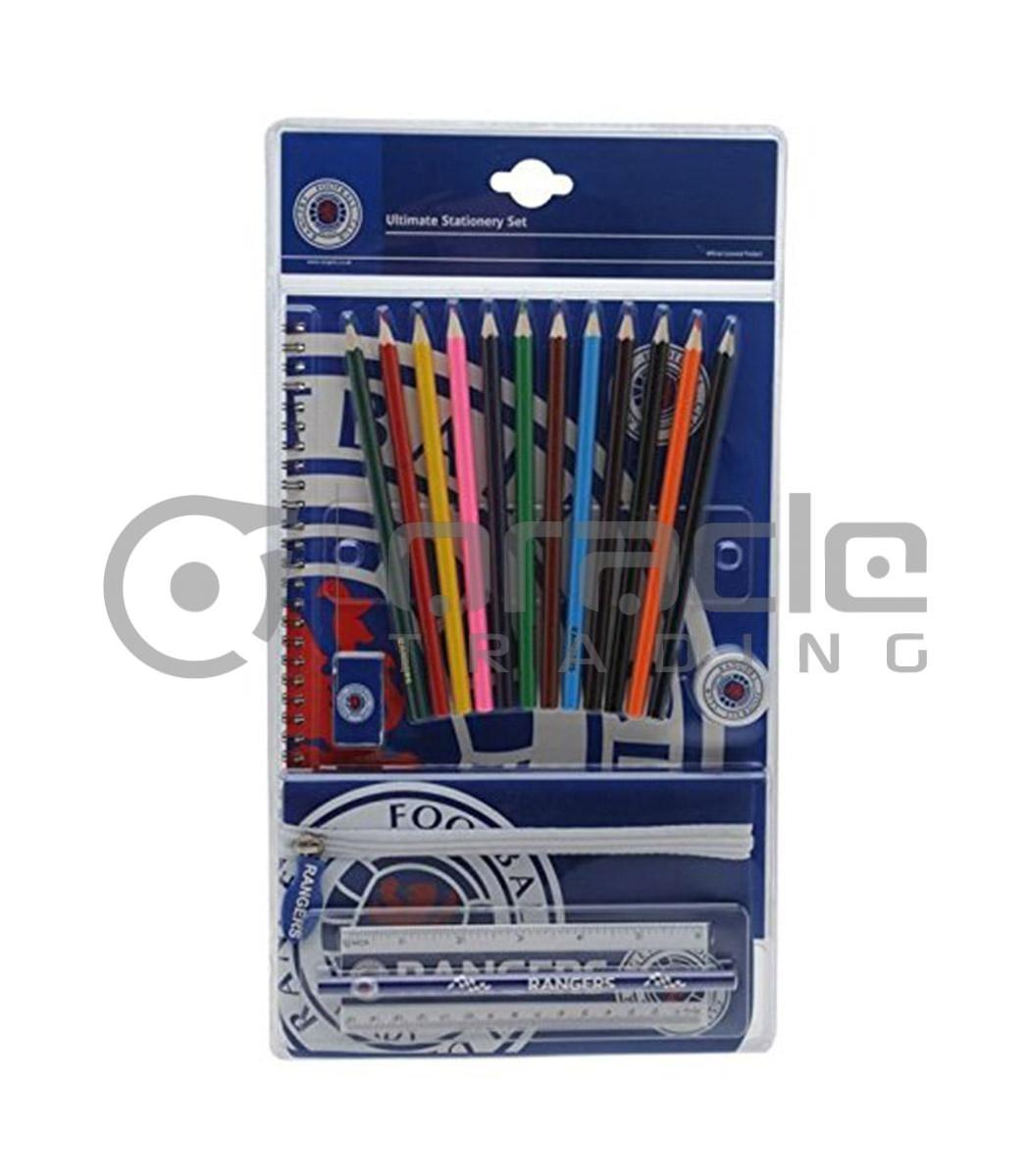 Rangers FC Ultimate Stationery Set