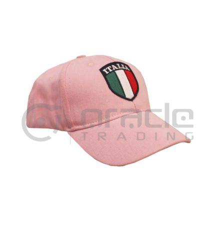 Italia Vintage Hat - Pink