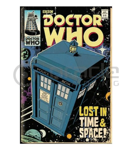Doctor Who Poster - Tardis Comic