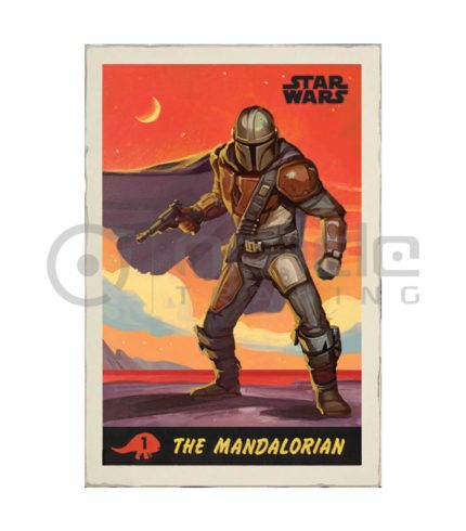 Star Wars: The Mandalorian Poster - The Poster