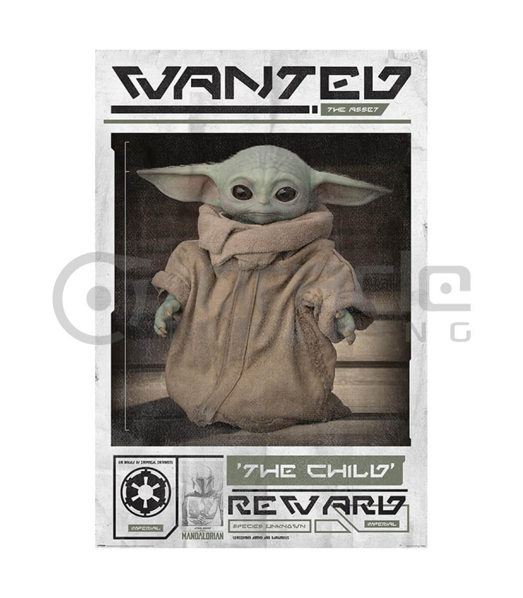 Star Wars: The Mandalorian Poster - Wanted