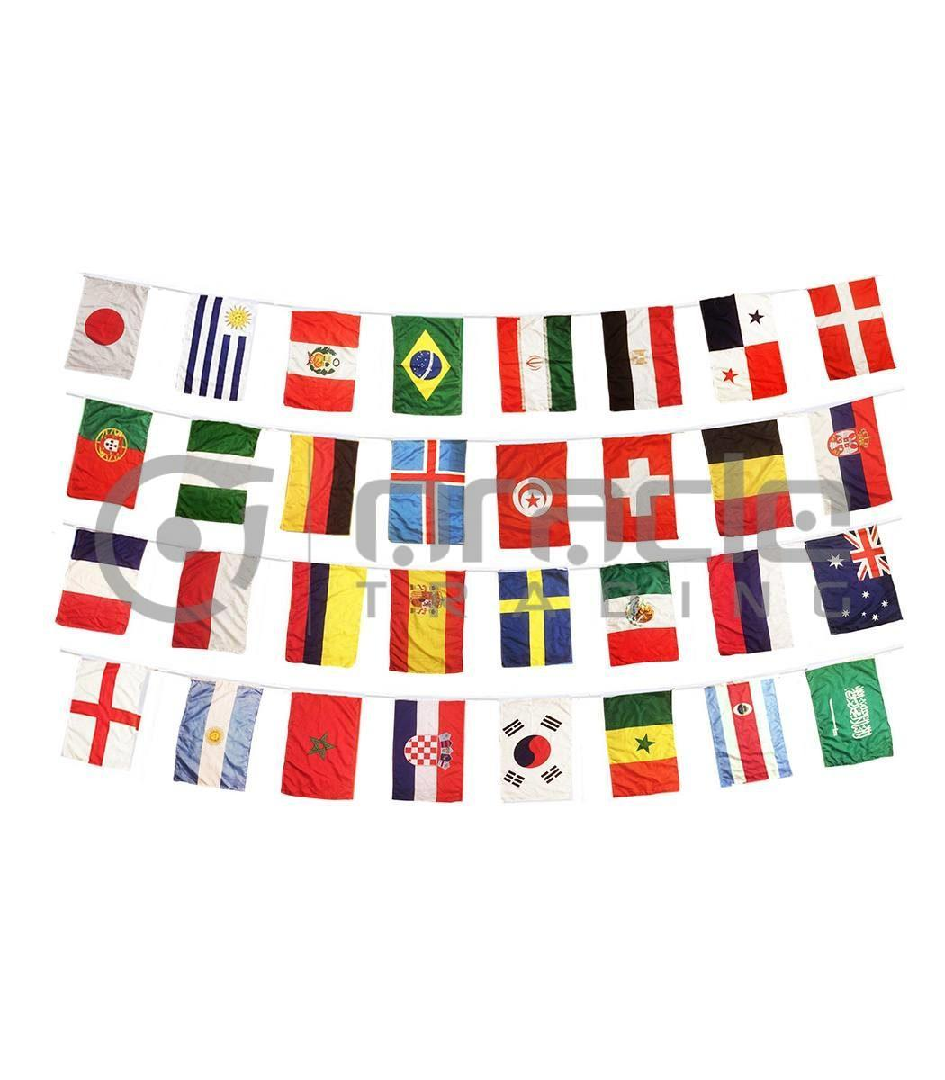 2018 World Cup Bunting - 32 Country