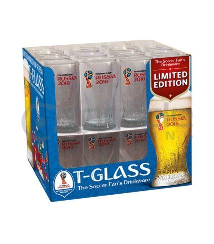 2018 FIFA World Cup Russia - Official Beer Glasses - 32-Pack