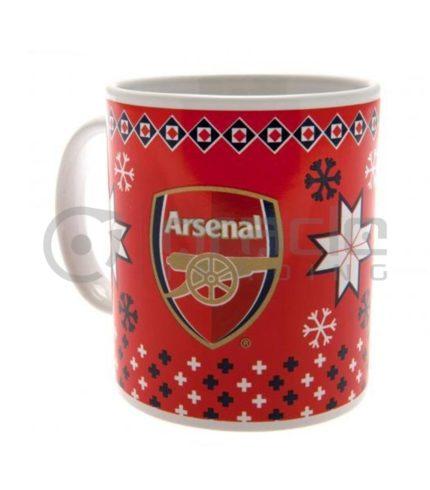 Arsenal Christmas Mug (Boxed)
