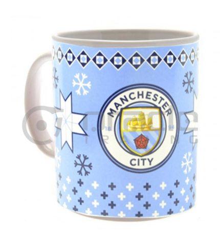 Manchester City Christmas Mug (Boxed)