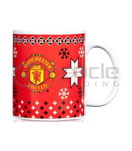 Manchester United Christmas Mug (Boxed)